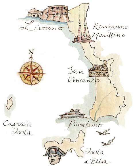federnuoto toscana livorno map - photo#8