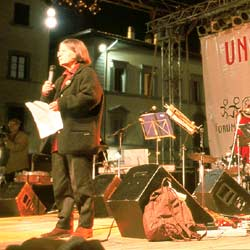 The concert in Piazza Santa Croce
