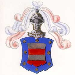 Tuscany coat of arms.Accolti d'Arezzo