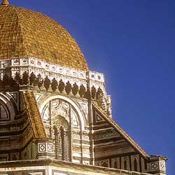 Firenze: A detail of the Duomo