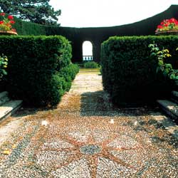 Fiesole: The garden of Villa Gamberaia