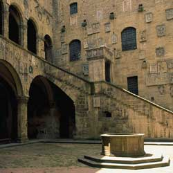 Cortile interno Museo del Bargello