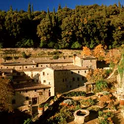 Cortona: The San Francesco convent