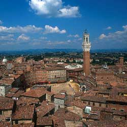 Siena: View from the top.