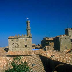 Volterra: A view of the city