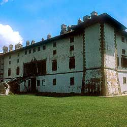 The Medicean villa in Artimino.